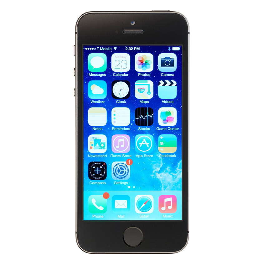 Refurbished Apple iPhone 5S - 64 GB - Space Gray - Grade A