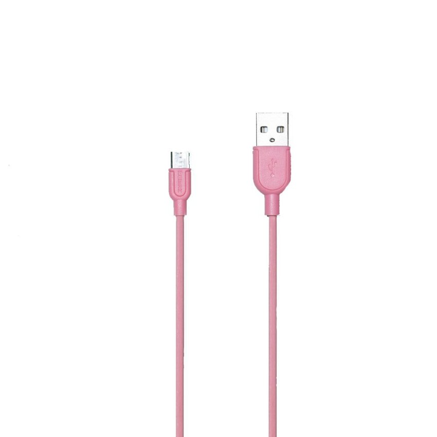 Remax 100 cm Original Micro USB Cable Charging Data Trasmit Flat Wire For Samsung/Nokia/Motorola (Pink) (Intl)