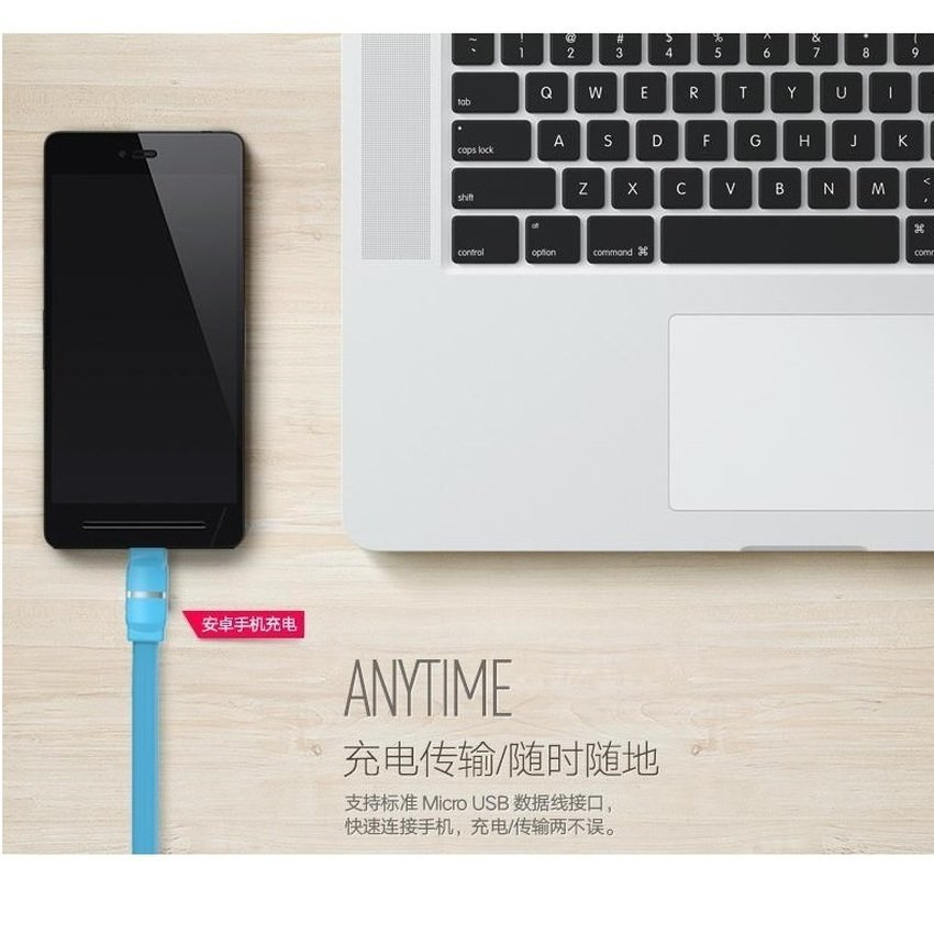 Remax Breathe Lightning Series Data Cable For Android - Putih