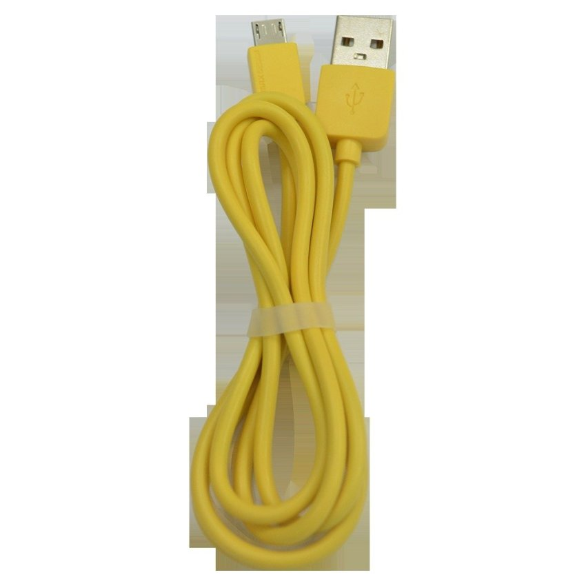 Remax Cable Micro USB Safe Charge Speed & Data 1 Mtr - Kuning