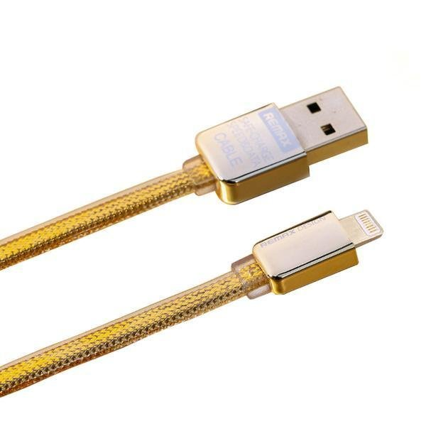 Remax Cable untuk Iphone 5/6 - Gold