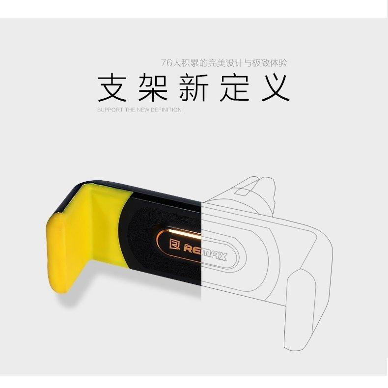 Remax Car Air Vent Smartphone Holder - RM-01 - Biru/Putih