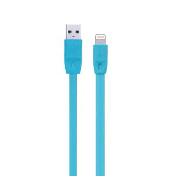 Remax Full Speed Cable 2000mm iPhone 5/6 iPad Mini / Air - Lightning Kabel Data - Biru