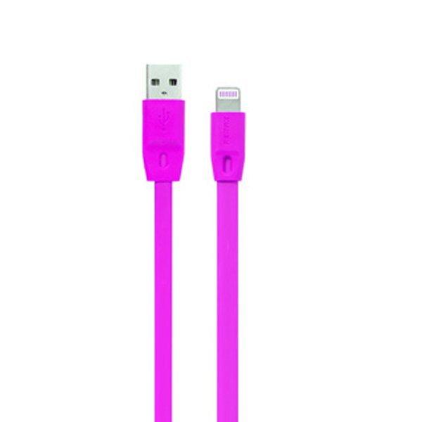 Remax Full Speed Cable 2000mm iPhone 5/6 iPad Mini / Air - Lightning Kabel Data - Ungu