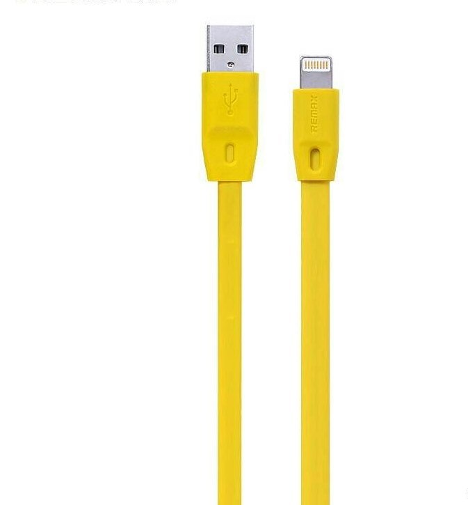 Remax Full Speed Cable iPhone 5/6 - Kuning