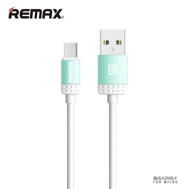 Remax Lovely Lightning Cable for iPhone6/6+/5/5s - Blue