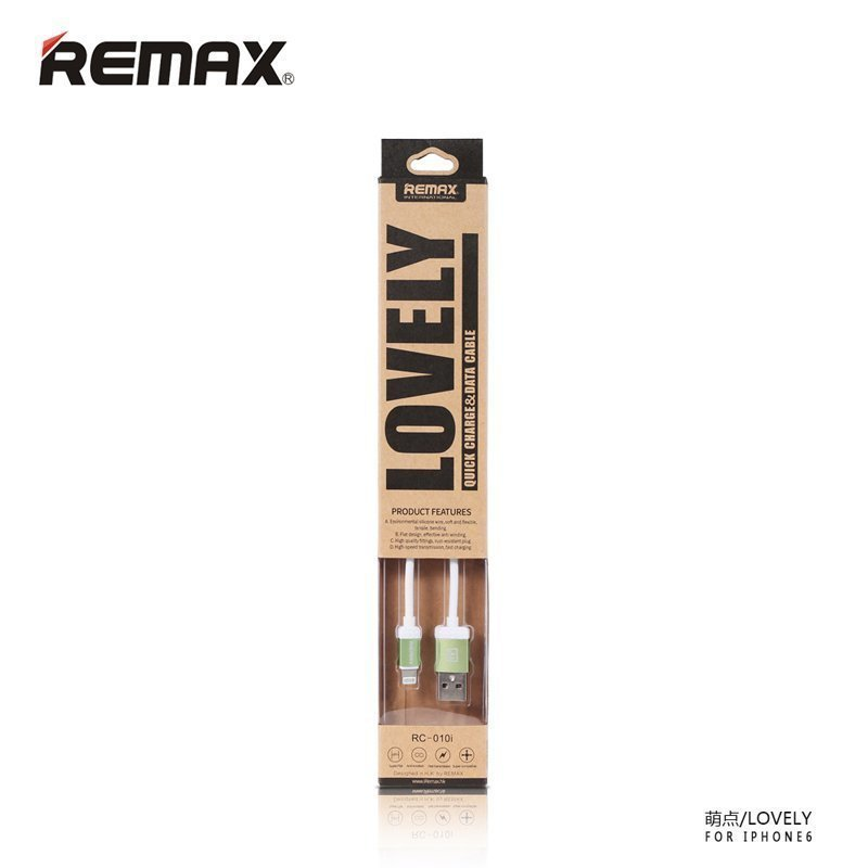 Remax Lovely Lightning Cable for iPhone6/6+/5/5s - Golden