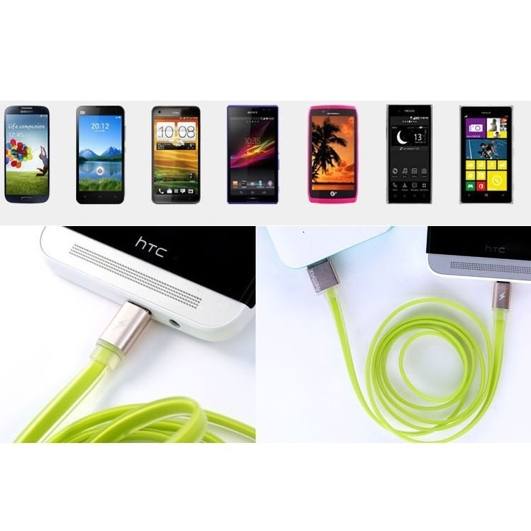 Remax Quick Micro USB Cable for Smartphone - Jingga