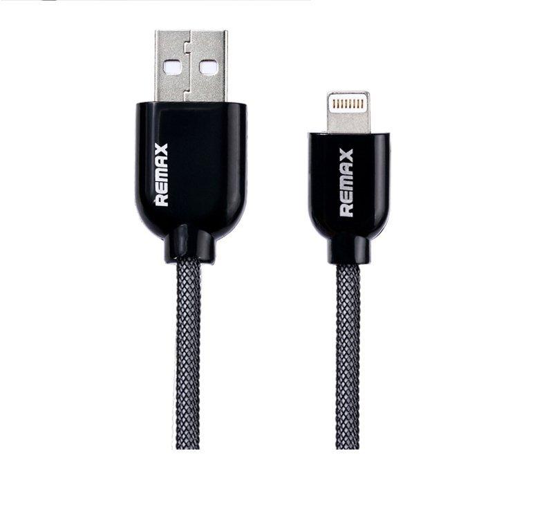 Remax Super Cable Lightning for Iphone 6/5/5S/5C Ipad4 Ipad Mini - Hitam