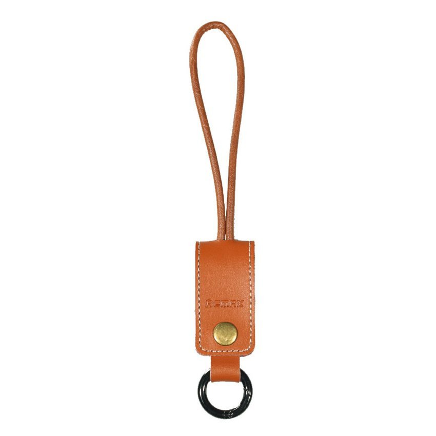 Remax Western Keychain Lightning Cable 32cm for iPhone 6 - RC-034i - Brown