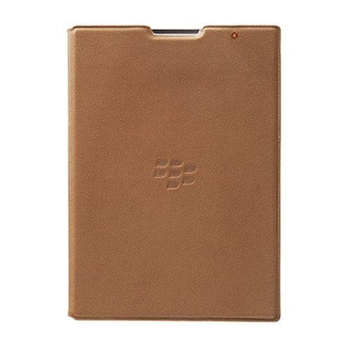 RIM Blackberry Accessories Blackberry Leather Flip Case untuk Blackberry Passport - Coklat