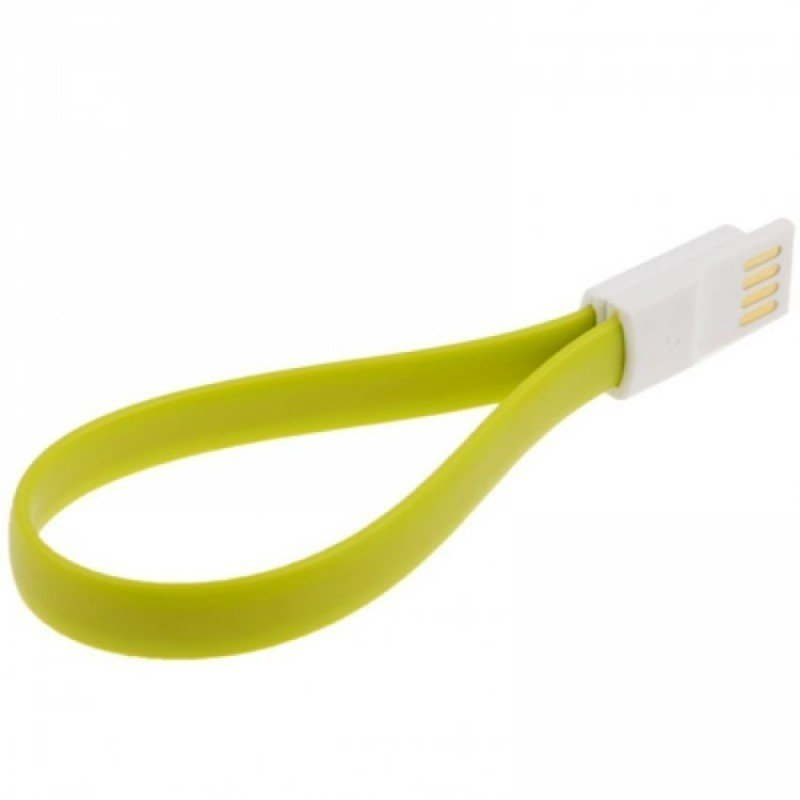Riva Magnet Kabel Charger Micro USB 20cm - Green
