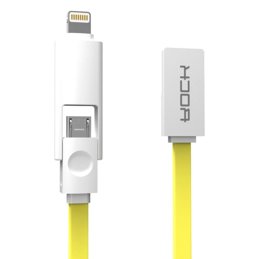 Rock 1M Lightning to USB Cable for iPhone6/6S Plus Samsung HTC iPad (Intl)