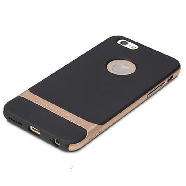 Rock Hybrid Shockproof Hard Case for iPhone SE / 5S / 5 (Gold)