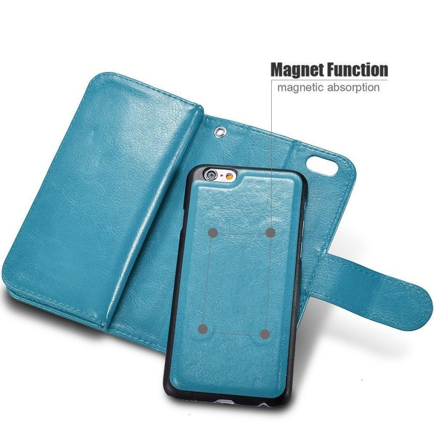 Roybens Luxury Back Mirror Cheap Best Case for Apple iPhone 6/6S Blue (Intl)