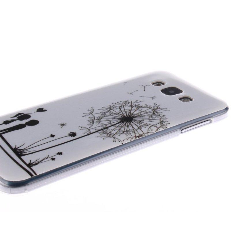 RUILEAN Pattern Soft Gel TPU Durable Silicone Case Cover for Samsung Galaxy E7 -No.3
