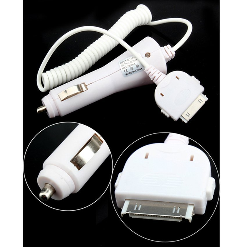 S & F Car Charger Adapter For Apple iPod iPhone 3GS 3GS 8G F (Intl)