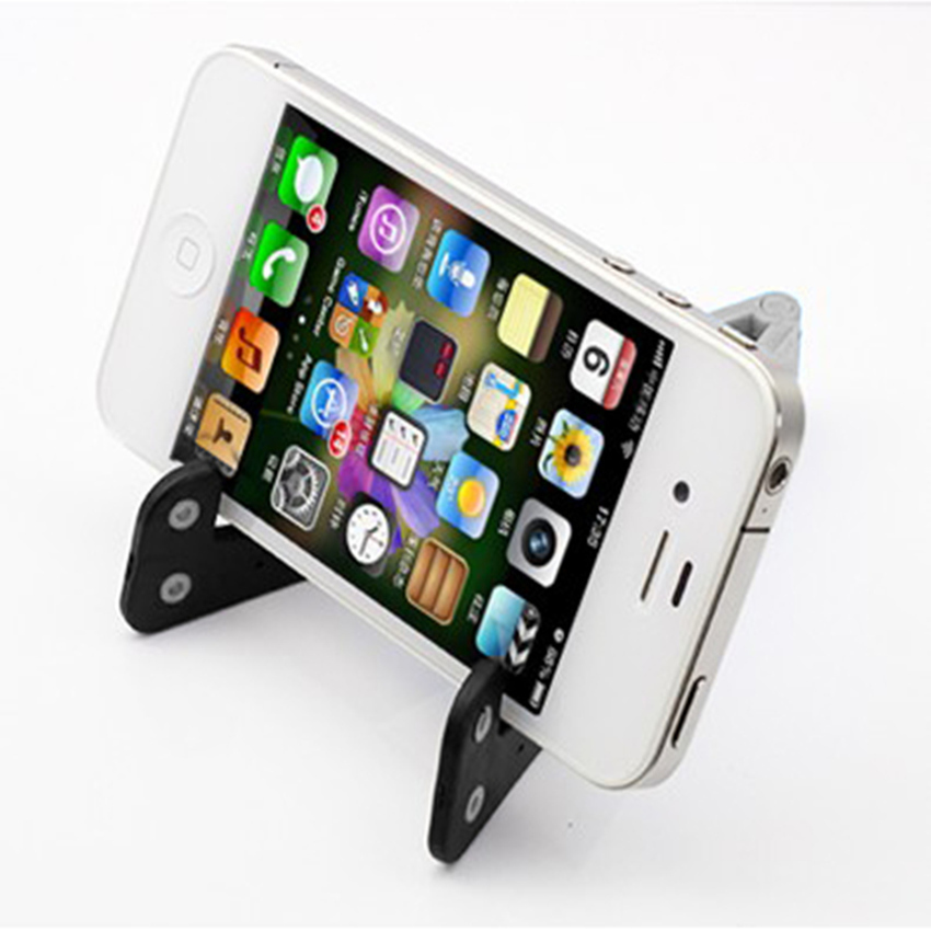 S & F Foldable Cell Phone Stand Holder for Smartphone White