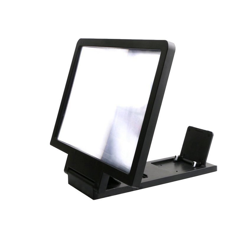 S & F Portable 3D Enlarged Screen Mobile Phone Folding HD Amplifier Bracket (Intl)
