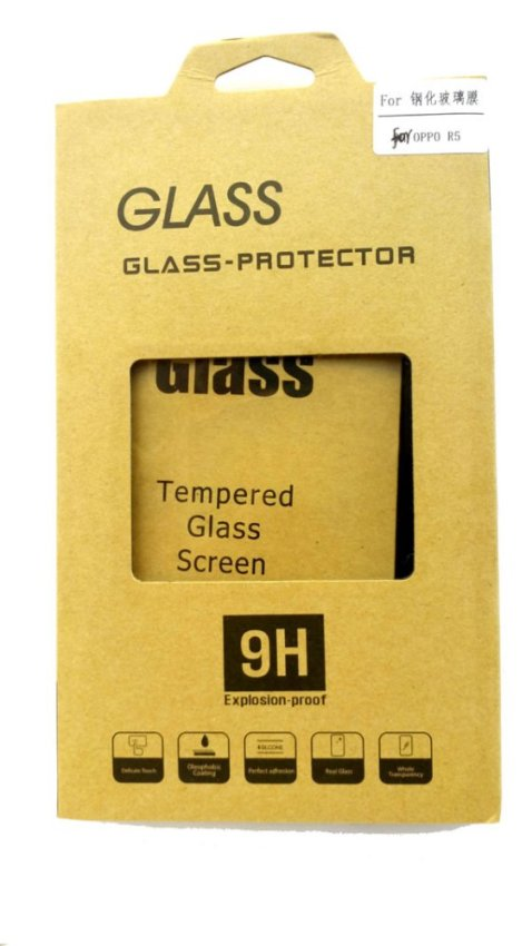 S-Ch Oppo R5 Tempered Glass Screen Protector Anti Gores