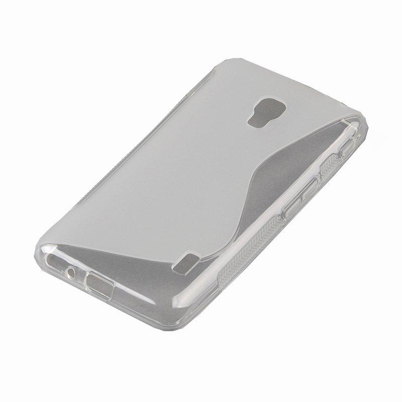 S-Line Wave Back Case for LG Optimus F6 D500 (Grey) (Intl)
