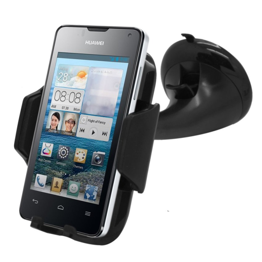 Samrick 360 Degree Rotation Car Dashboard Mount/Holder for Huawei Ascend Y300 (Black) (Intl)