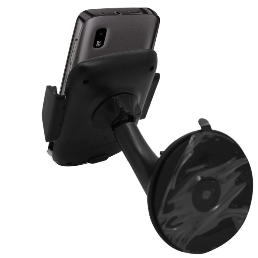 Samrick Specially Made To Measure 360 Degree Rotation Car Windscreen/Dashboard Mount/Holder With One-Step Mounting Technology For Nokia Asha 300 (Black) (Intl)