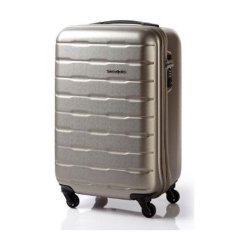 [SAMSONITE] SPIN TRUNK(Suitcase) SPINNER ZIP 55/20 (Matt Ivory Gold)