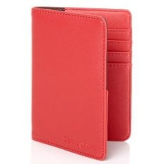 [SAMSONITE] TRAVEL LINK passport wallet ACC.RFID PASSPORT COVER_CORAL (Rose Red)