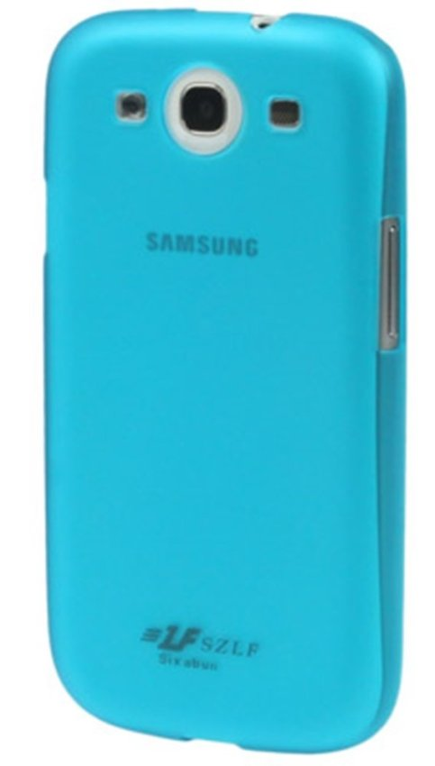 Samsung 0.7mm Ultra Thin Polycarbonate Translucent Protective Shell for Samsung Galaxy SIII / i9300 - Biru