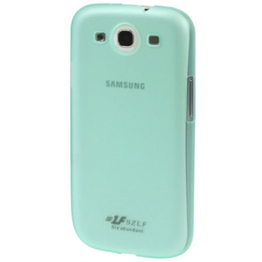 Samsung 0.7mm Ultra Thin Polycarbonate Translucent Protective Shell for Samsung Galaxy SIII / i9300 - Hijau Muda
