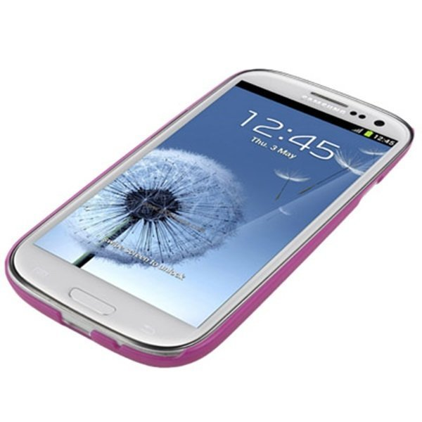 Samsung 0.7mm Ultra Thin Polycarbonate Translucent Protective Shell for Samsung Galaxy SIII / i9300 - Ungu