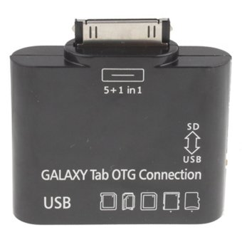 Samsung 5 in 1 USB OTG Connection Kit for Samsung Galaxy Tab  - Hitam