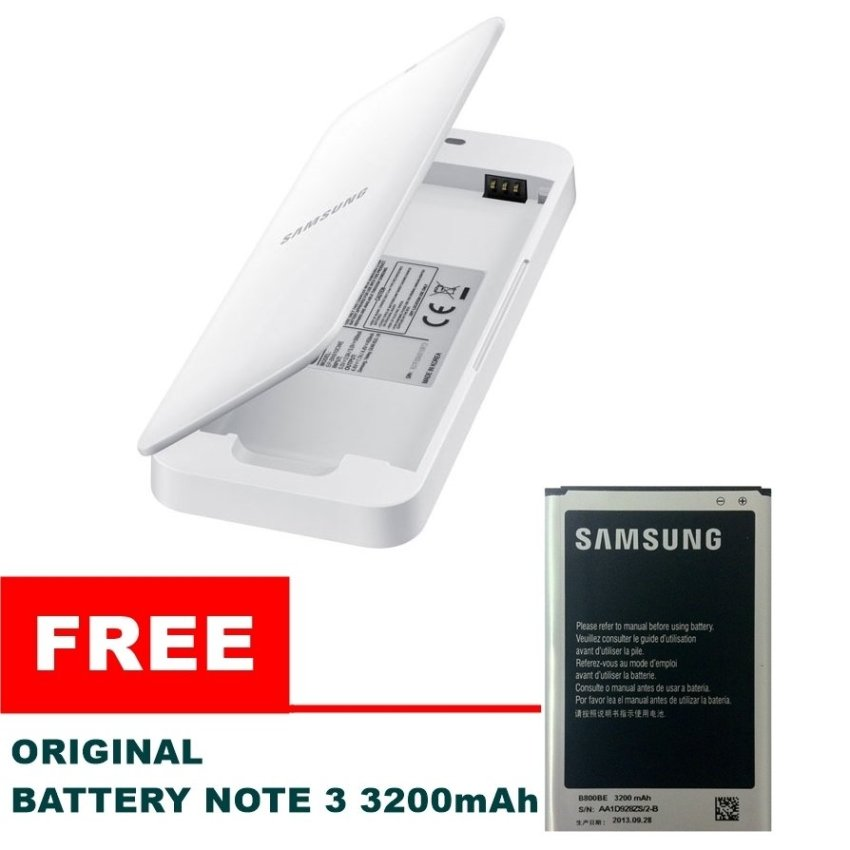 Samsung Battery Kit Note 3 + Free Battery Note 3 3200mAh