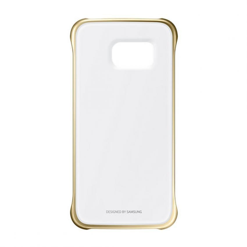 Samsung Case Clear Cover Galaxy A7 2016 - Gold