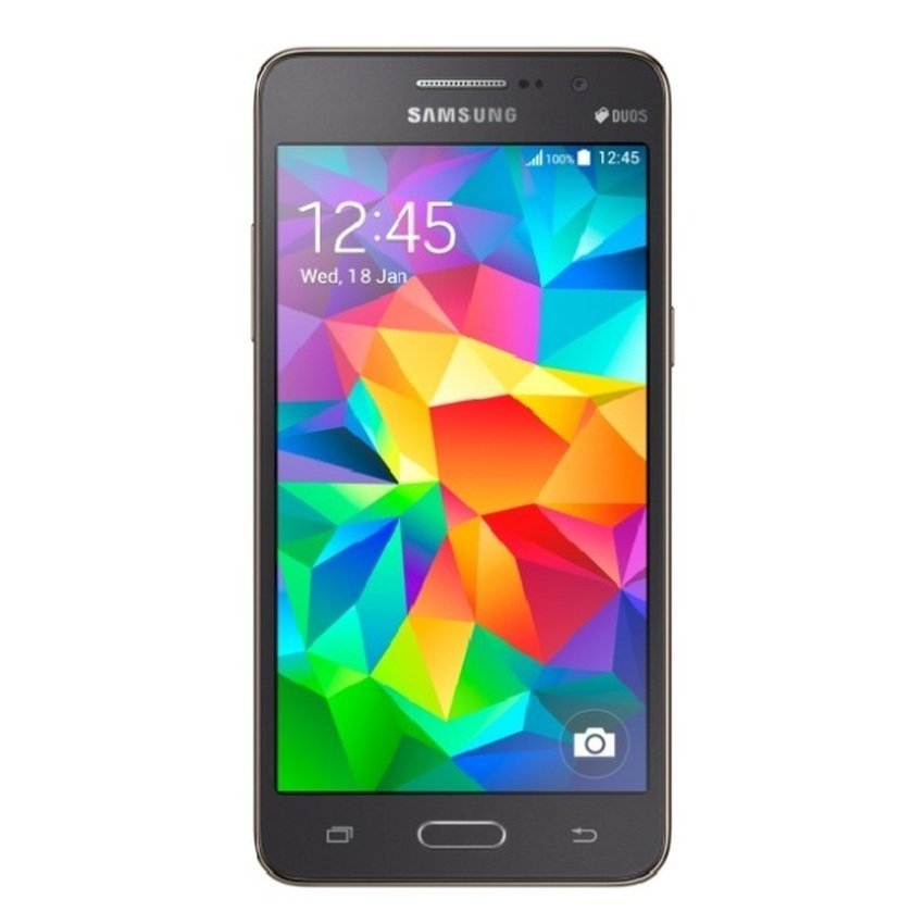 Samsung Galaxy Grand Prime SM-G530H/DS - 8GB - Abu-abu