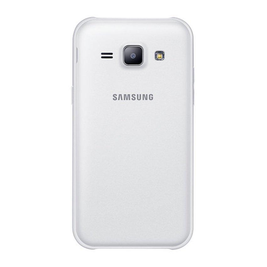 Samsung Galaxy J1 Ace SM-J110G Dual Sim - 4GB - LTE - Putih+Bundling Softcase