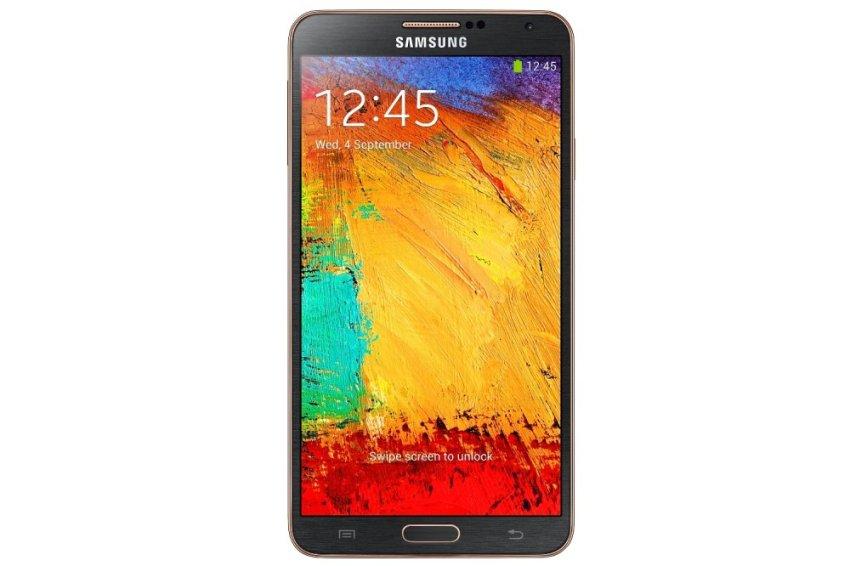 Samsung Galaxy Note 3 Resmi - Black Gold