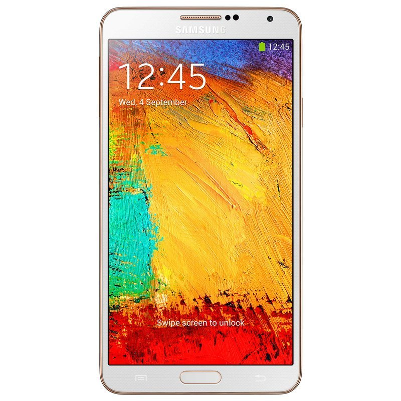 Samsung Galaxy Note 3 SM-N900 - 32GB - Putih-Emas