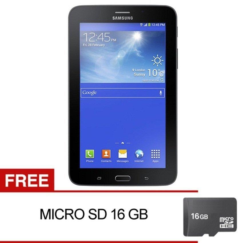 Samsung Galaxy Tab 3V T116 - 8GB - Hitam + Gratis Micro SD 16GB