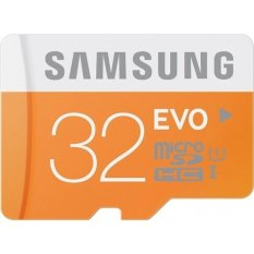 Samsung MicroSDHC EVO Class 10 - 32GB MB-MP32D Oranye