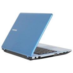 "Samsung NP300E4X-A05ID Dos Biru/Silver - 14"" - 320 GB + Kartu Promo Internet Intel - Telkom + Travel Time SL1504 Tas Laptop - Hitam"