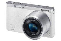 Samsung NX Mini - 20.5 MP - Lens 9-27 mm - Putih