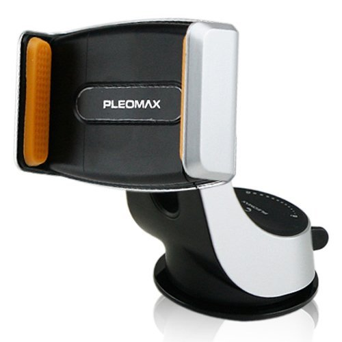Samsung Pleomax All Fit3 Car Mount Cradle Holder Gps for iPhone 4 4s 5 5s 6 Plus (Black)
