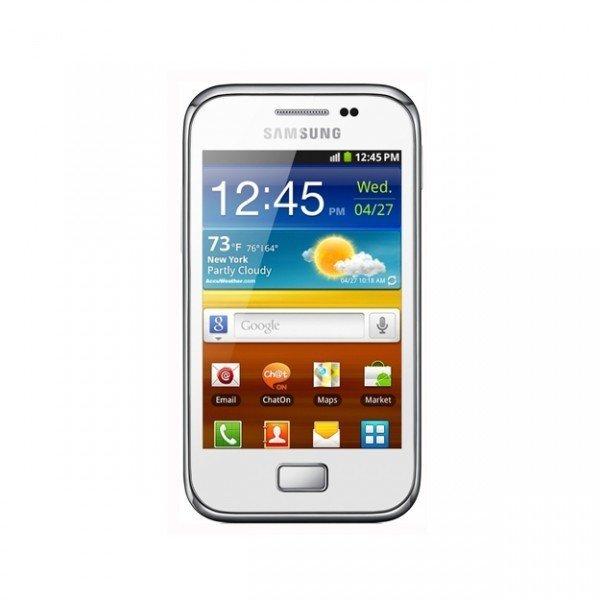 Samsung S7500 Ace Plus Garansi Samsung - White
