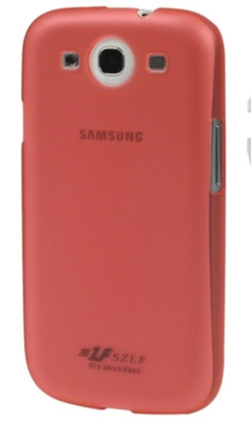 Samsung Ultra Thin Polycarbonate Translucent Protective Shell for Samsung Galaxy SIII / i9300 - Merah