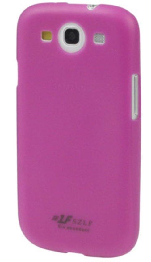 Samsung Ultra Thin Polycarbonate Translucent Protective Shell for Samsung Galaxy SIII / i9300 - Ungu