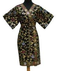 Sanny Apparel B 395 Kimono Batik - Hitam