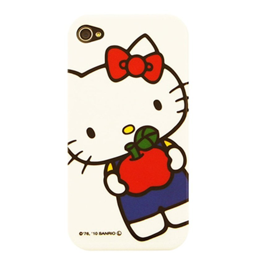 Sanrio Hello Kitty Hardcase For Iphone 4 SAN-57KTD - Putih