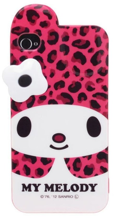 Sanrio My Melody Softjacket For Iphone 4 SAN-103MMD